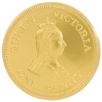 Queen Victoria One Penny