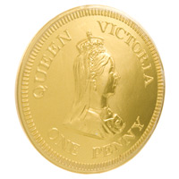 Queen Victoria One Penny