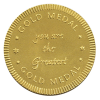 You are the greatest gold medal